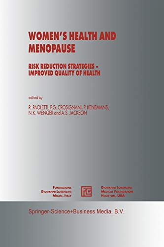 Women's Health and Menopause: Risk Reduction Strategies — Improved Quality of Health (Medical ...