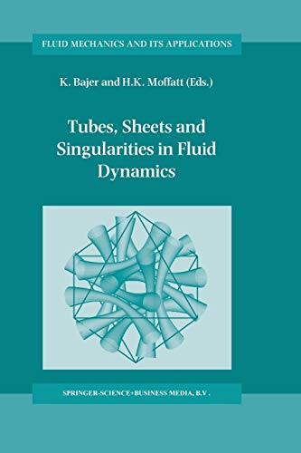9789401739535: Tubes, Sheets and Singularities in Fluid Dynamics: Proceedings of the NATO ARW held in Zakopane, Poland, 2–7 September 2001, Sponsored as an IUTAM ... (Fluid Mechanics and Its Applications)