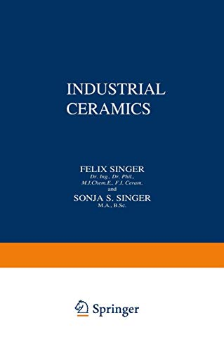 9789401752596: Industrial Ceramics ( Volume I and II )