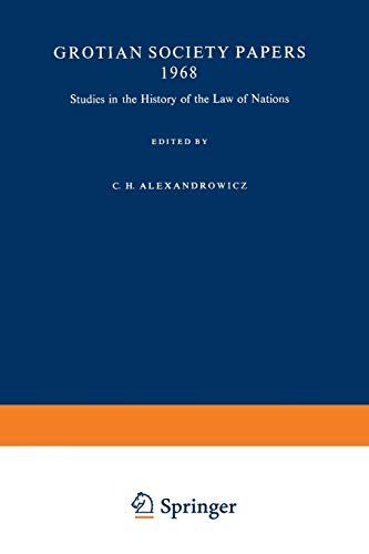 Studies in the History of the Law: Charles Henry Alexandrowicz