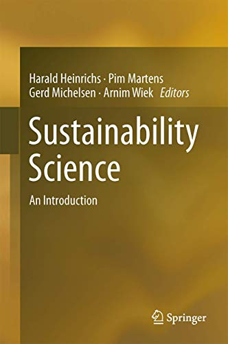 9789401772419: Sustainability Science: An Introduction