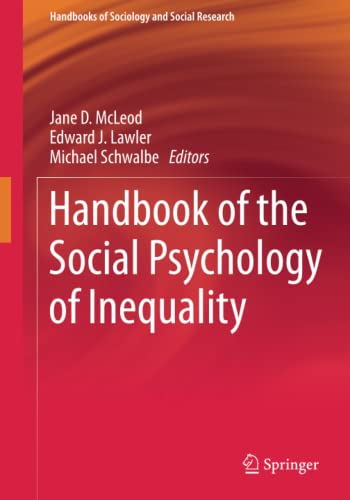 Handbook of the Social Psychology of Inequality: Jane McLeod
