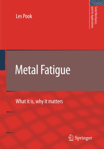 9789401776455: Metal Fatigue: What It Is, Why It Matters (Solid Mechanics and Its Applications)