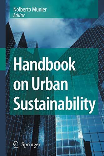 9789401776684: Handbook on Urban Sustainability