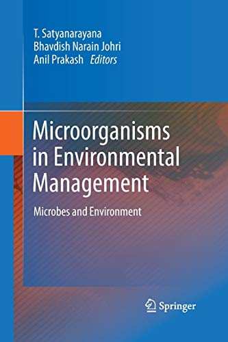 9789401779036: Microorganisms in Environmental Management: Microbes and Environment