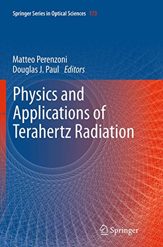 9789401779159: Physics and Applications of Terahertz Radiation (Springer Series in Optical Sciences)