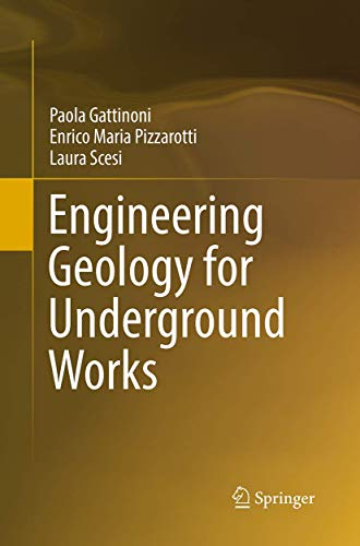 9789401779814: Engineering Geology for Underground Works