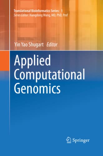 9789401780636: Applied Computational Genomics (Translational Bioinformatics)