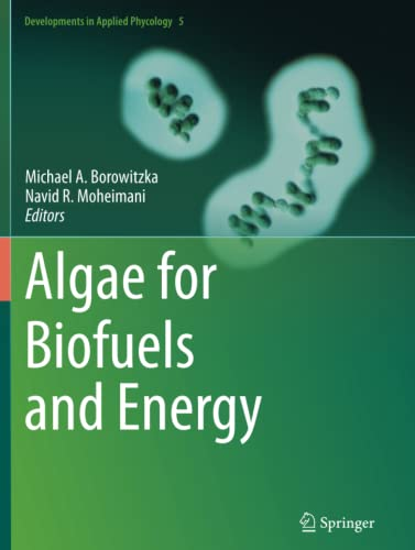 9789401781374: Algae for Biofuels and Energy (Developments in Applied Phycology)