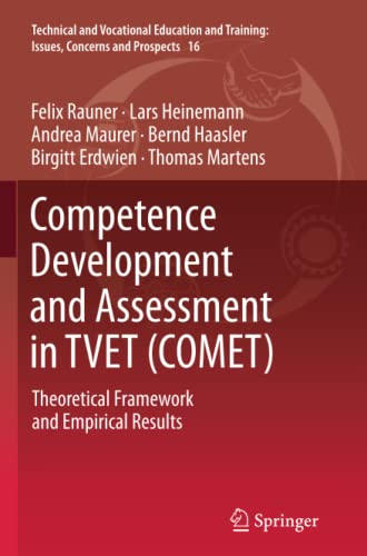 9789401782005: Competence Development and Assessment in Tvet (Comet): Theoretical Framework and Empirical Results (Technical and Vocational Education and Training: Issues, Concerns and Prospects)