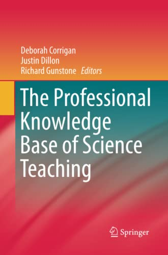 9789401782975: The Professional Knowledge Base of Science Teaching