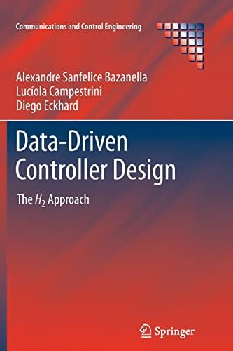 Data-Driven Controller Design: The H2 Approach (Paperback): Alexandre Sanfelice Bazanella,