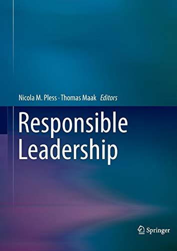 9789401783767: Responsible Leadership