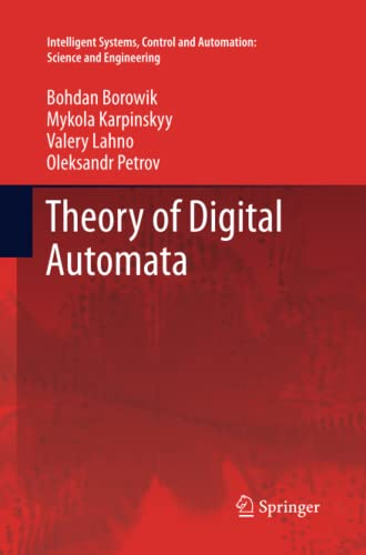 9789401784528: Theory of Digital Automata (Intelligent Systems, Control and Automation: Science and Engineering)