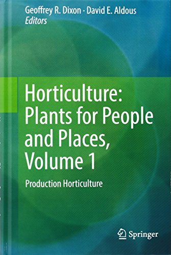 Horticulture: Plants for People and Places: Unnamed