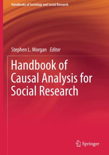 9789401794077: Handbook of Causal Analysis for Social Research (Handbooks of Sociology and Social Research)