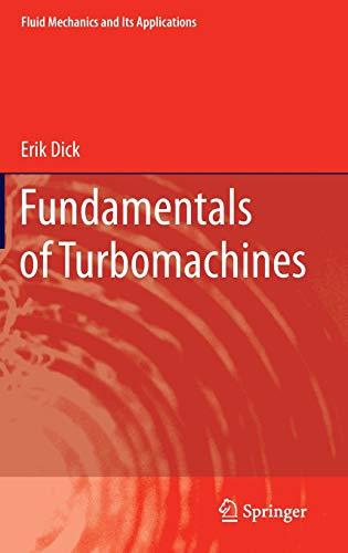Fundamentals of Turbomachines.: Dick, Erik: