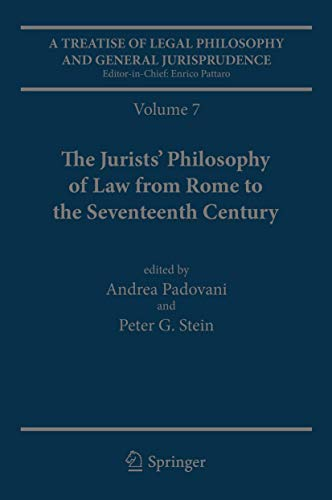 Treatise of Legal Philosophy and General Jurisprudence (Hardcover): Michael Lobban