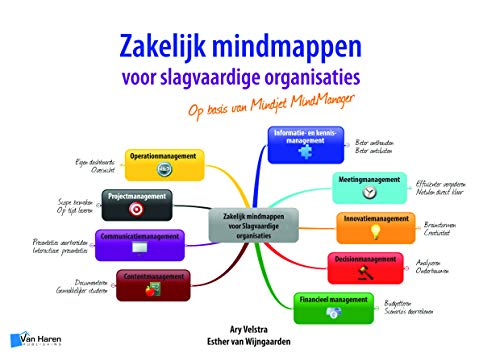 Zakelijk Mindmappen voor Slagvaardige Organisaties op Basis van Mindjet Mindmanager (Dutch Edition)...