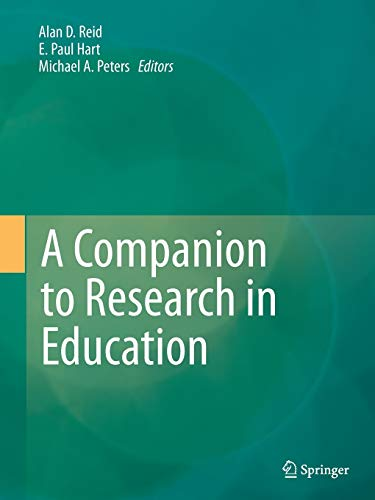 9789402401936: A Companion to Research in Education