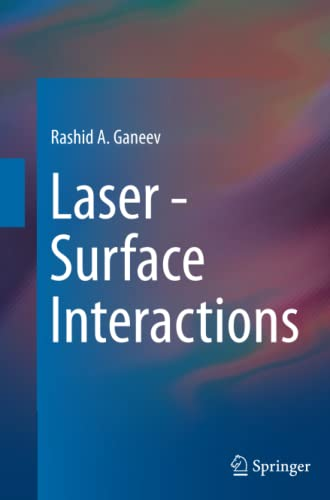 9789402402445: Laser - Surface Interactions