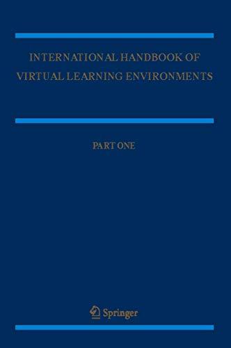 International Handbook of Virtual Learning Environments (Paperback)
