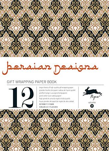 12 gift wrapping paper book Persian designs : Volume 25: Van Roojen, Pepin