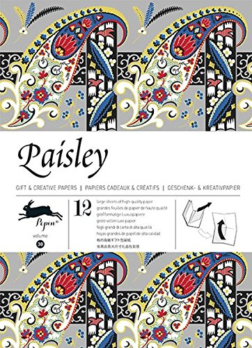9789460090509: Paisley : Gift and creative paper book Vol.38 (English, Spanish, French and German Edition)