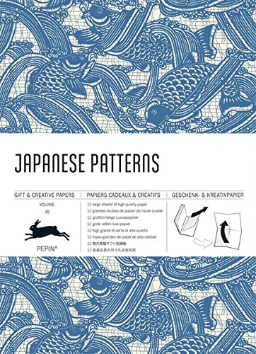 9789460090523: Japanese patterns : Gift & creative paper book