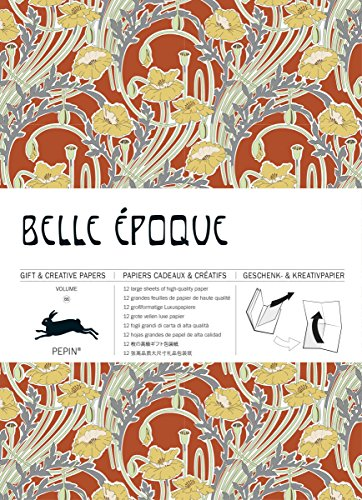 9789460090783: Belle Epoque: Geschenk- und Kreativpapierbuch Vol 66 (Giant Artists Colouring Books)