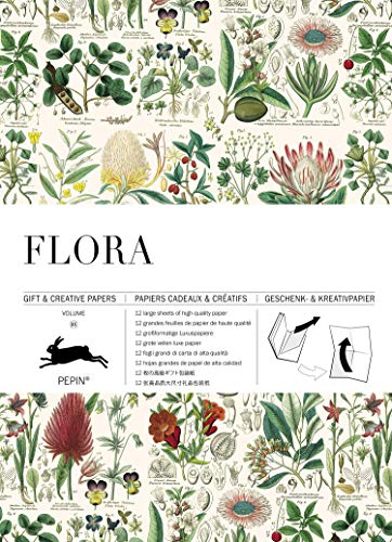 9789460090974: Flora: Gift & Creative Paper Book Vol. 85 (Multilingual Edition) (Gift & creative papers, 85)