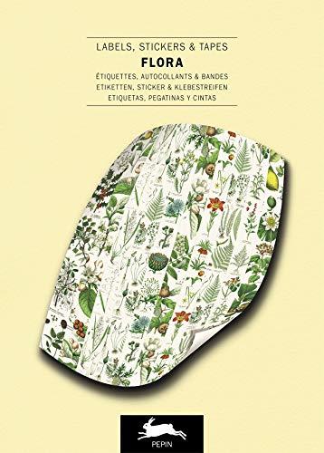 9789460094262: Flora: Label & Sticker Book