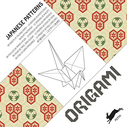 Japanese Patterns: Origami Book (English, Spanish, French, German and Japanese Edition): Pepin Van ...