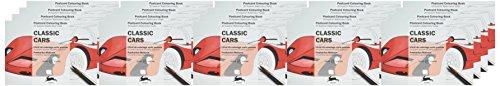 Classic Cars Display Box: Display Box with 20 Postcard Colouring Books (Hardback): Pepin Van Roojen