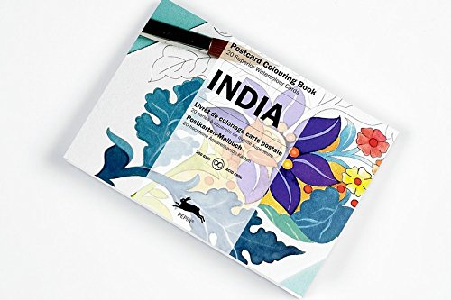 Artists' Colouring Post Card India: PEPIN VAN ROOJEN