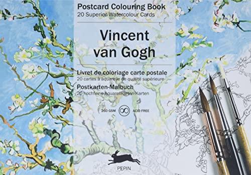9789460096273: Van Gogh: Postcard Colouring Book