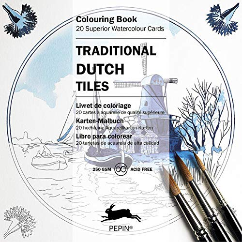 9789460096518: Traditional Dutch Tiles (Colouring Cards)