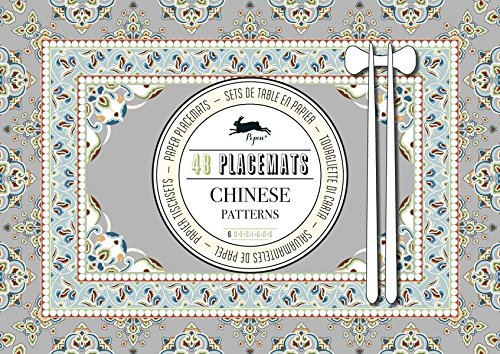 9789460097010: Chinese Patterns : Placemat Pad Vol 02