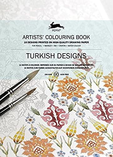 9789460098017: Livres de coloriage Artistes de Pepin : Turkish Designs