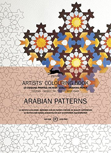 9789460098024: Livres de coloriage Artistes de Pepin : Arabian patterns