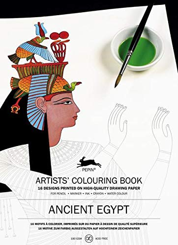 9789460098123: Ancient Egypt: Artists' Colouring Book