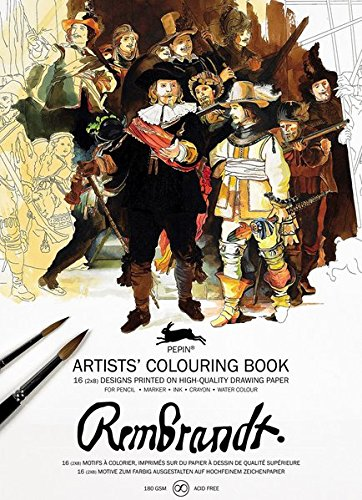 9789460098130: Rembrandt (Artistscolouring Book)