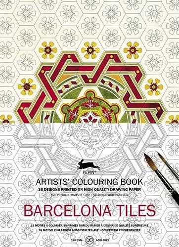 Artists' Colouring Book Barcelona Tiles: Pepin Van Roojen