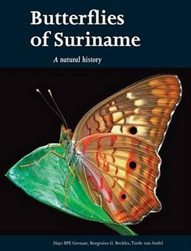 9789460221712: Butterflies of Suriname: A Natural History