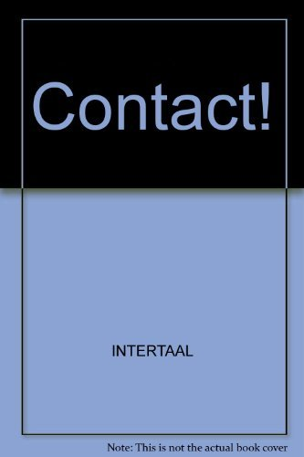 Contact! Contact!, INTERTAAL, New, 9789460301346 Never used!