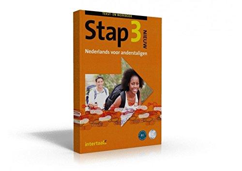9789460306082: Stap Tekst-en werkboek + CD: Tekst-/werkboek + audio CD s (4)