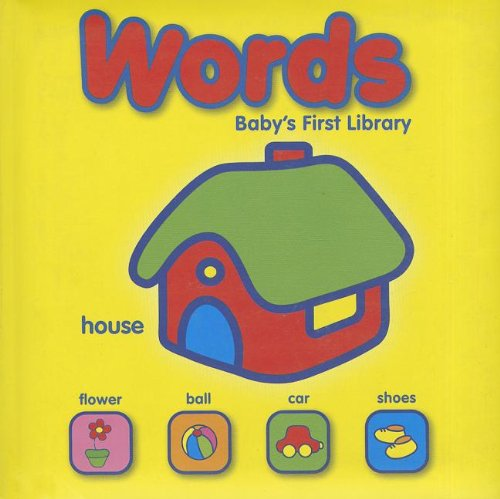 9789460337000: BABY'S FIRST LIBRARY - SMALL - WORDS