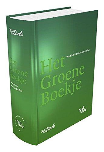 9789460772832: Het Groene Boekje: woordenlijst Nederlandse taal