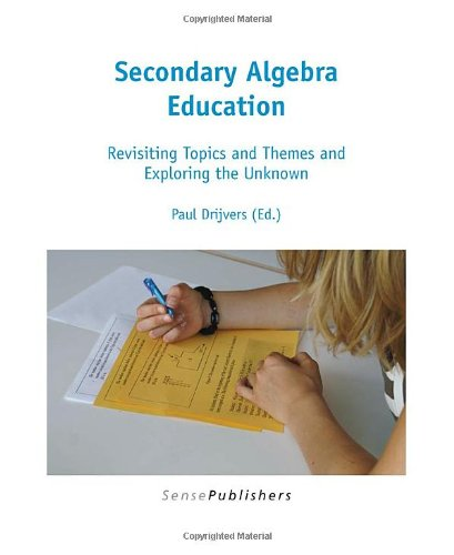9789460913334: Secondary Algebra Education