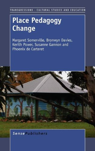 9789460916144: Place Pedagogy Change (Transgressions: Cultural Studies and Education)